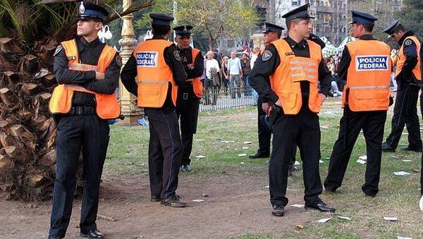 Полиция Аргентины, архивное фото