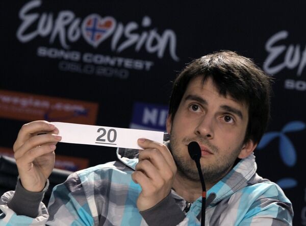 Первый полуфинал Евровидения-2010