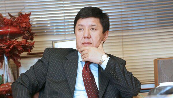 Темир Сариев, премьер-министр Киргизии. Архивное фото