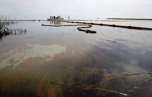 Ликвидация утечки нефти в Мексиканском заливе