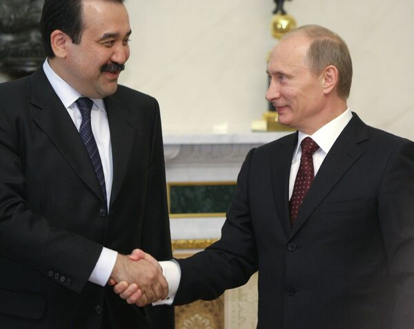 Пресс-конференция премьер-министров России и Казахстана