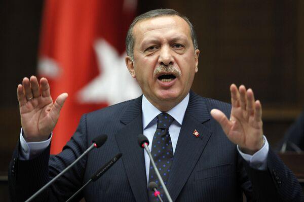 Выступление премьер-министра Турции Тайипа Эрдогана по случаю нападения Израиля на флотилию