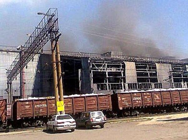 Взрыв на ОАО Кузнецкие ферросплавы