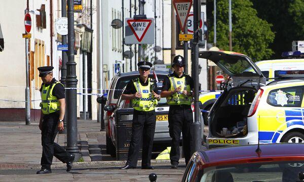 Полиция графства Камбрия на северо-западе Англии, где Деррик Берд открыл огонь по людям