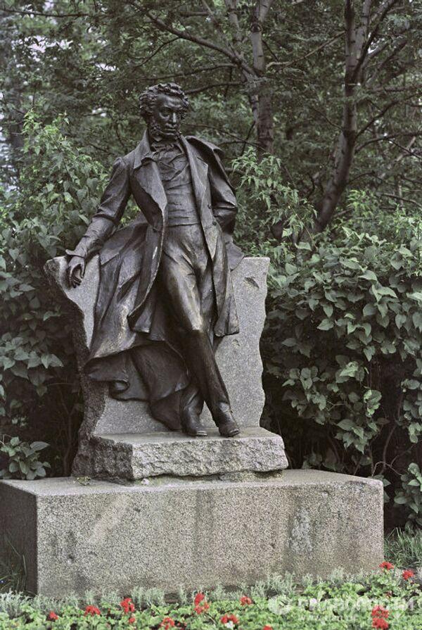Памятник А. С. Пушкину Л. А. Бернштама