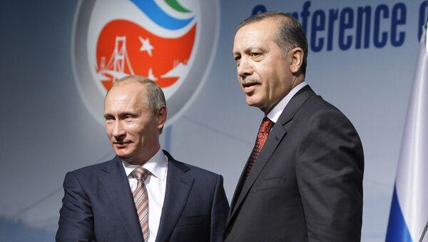 Пресс-конференция Влдаимира Путина и Реджепа Тайипа Эрдогана