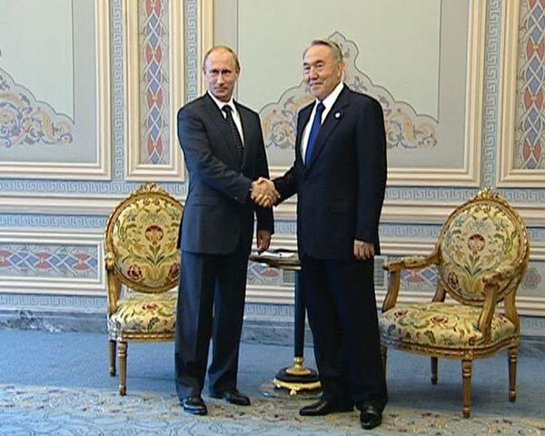 Нужно создать на практике условия для Таможенного союза – Путин
