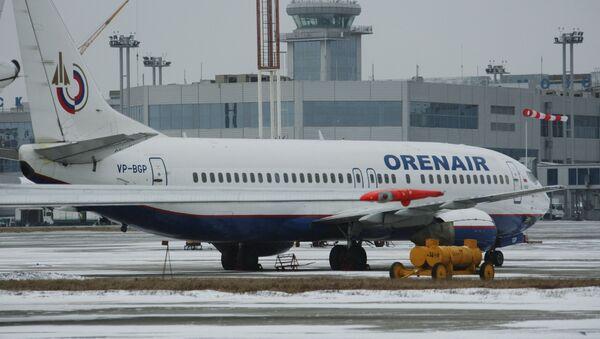 Boeing 737-500 авиакомпании Orenair. Архивное фото