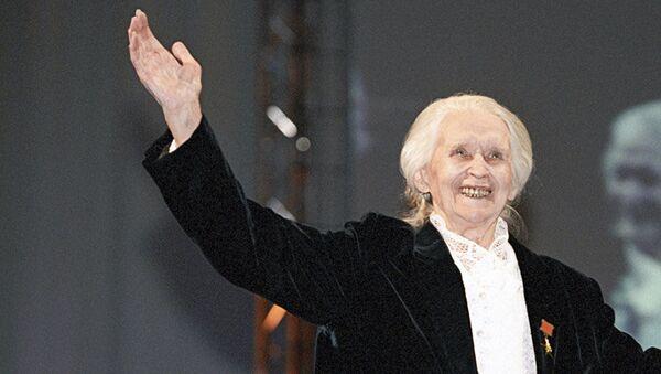 Балерина Марина Семенова