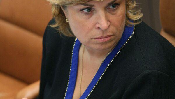 Заместитель министра финансов РФ Татьяна Нестеренко. Архивное фото