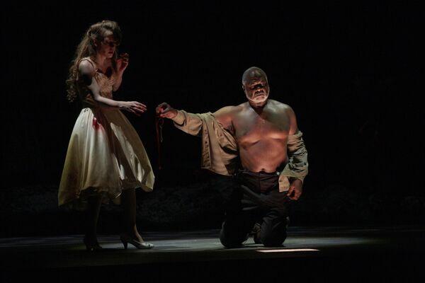 Прогон спектакля Замок герцога Синяя борода в Мариинском театре