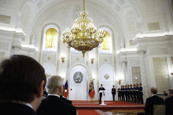 Дмитрий Медведев вручил Государственные премии за 2009 год