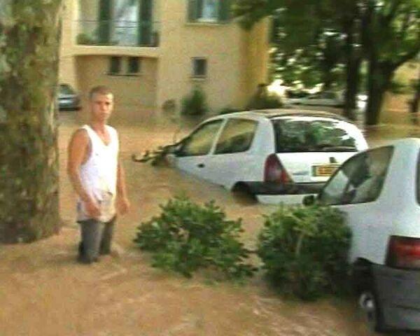 Французы потрясены последствиями мощных ливней на юге страны