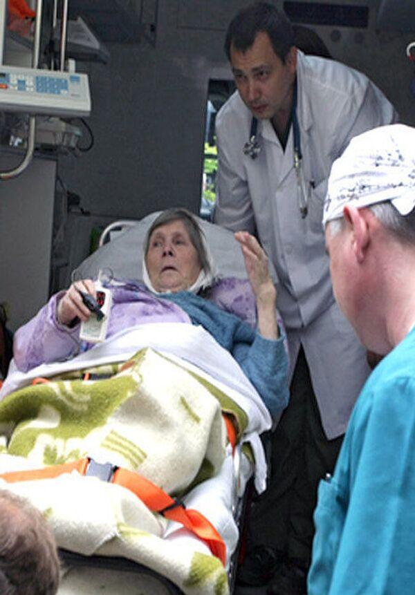 82-летняя россиянка Ирина Антонова вернулась из Финляндии в Выборг