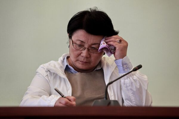 Президент Киргизии Роза Отунбаева. Архив