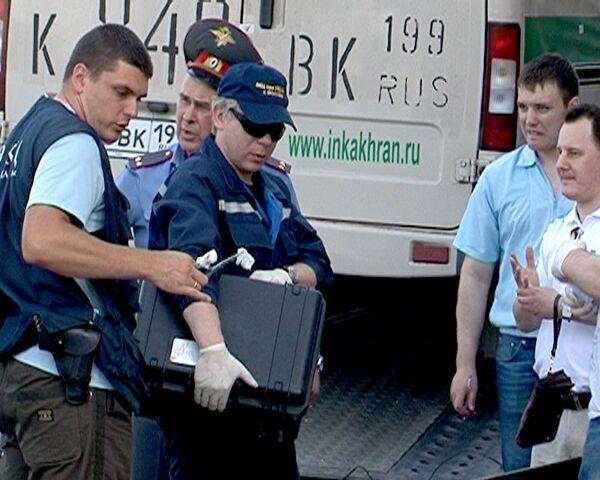 Неизвестные расстреляли трех инкассаторов в Москве