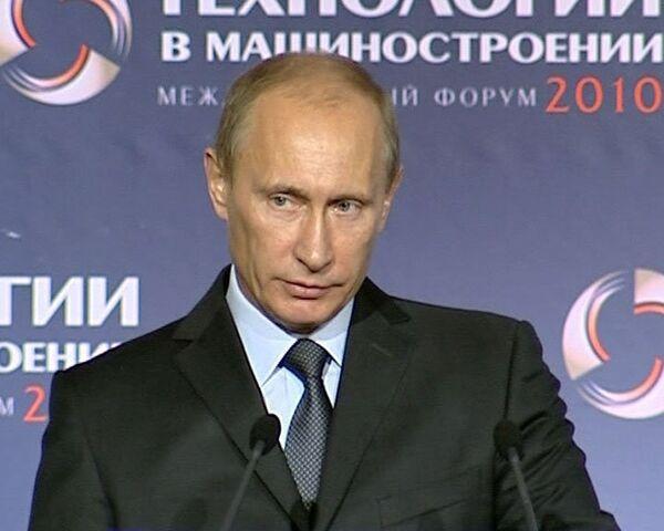 Путин сокращает масштабы обязательной сертификации машиностроения до 15%
