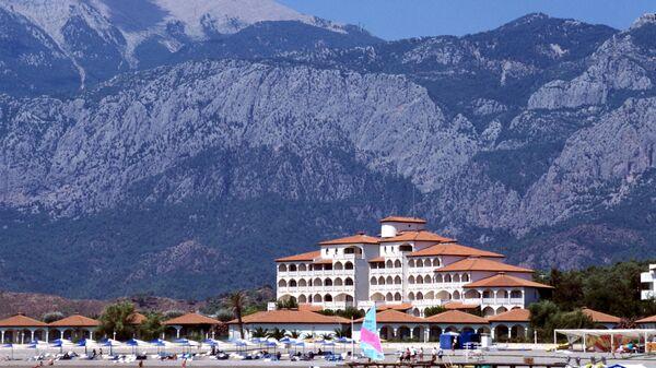 Гостиничный комплекс в Турции. Архивное фото
