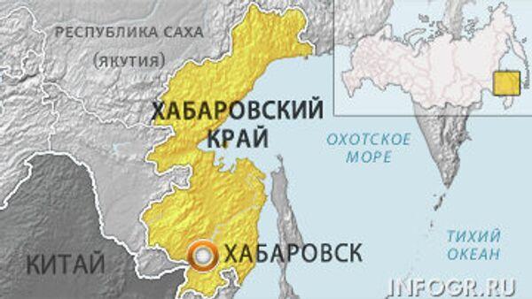 Хабаровск. Карта