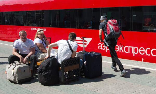 Компания Аэроэкспресс ввела дополнительные рейсы электропоездов