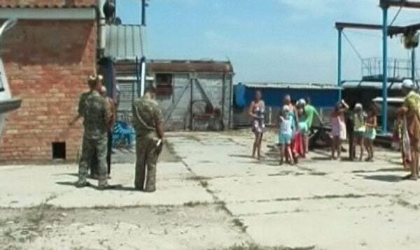 ЧП в лагере Азов, где погибли 6 детей