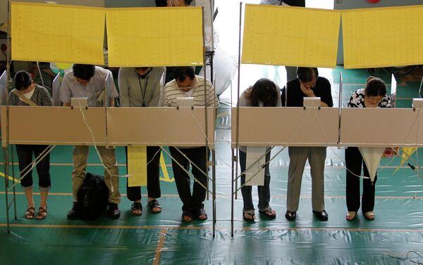 Выборы в верхнюю палату парламента Японии
