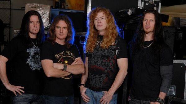 Увокалиста Megadeth обнаружили рак горла