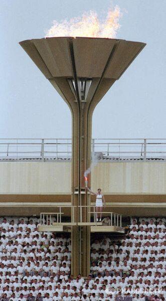 Церемония открытия XXII Олимпийских игр в Москве