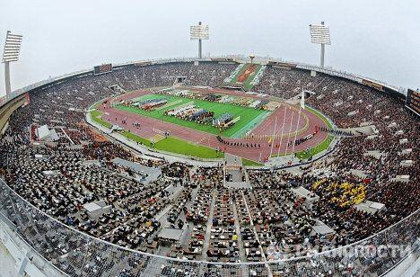 Открытие XXII Олимпийских игр в Москве