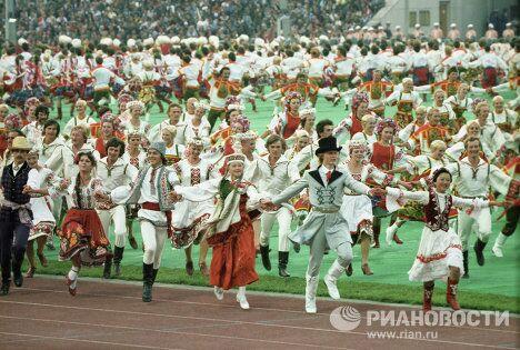Фрагмент танцевальной сюиты Дружба народов