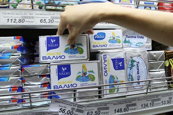 В России с 23 июля вводится временный запрет на поставку финской мясомолочной продукции Валио