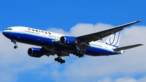 Самолет Boeing-777 авиакомпании United Airlines