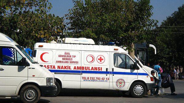 Машина турецкой скорой помощи