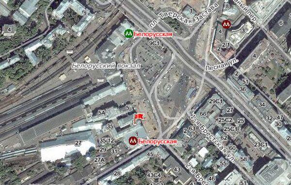 Пожар в здании по адресу площадь Тверской заставы, 3 в Москве