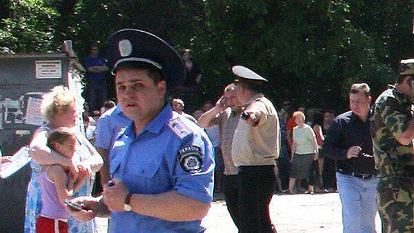 Украинская милиция. Архив