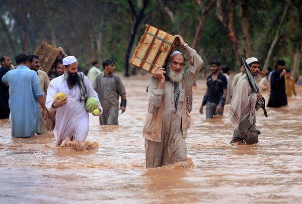 Наводнение в Пакистане. Архив