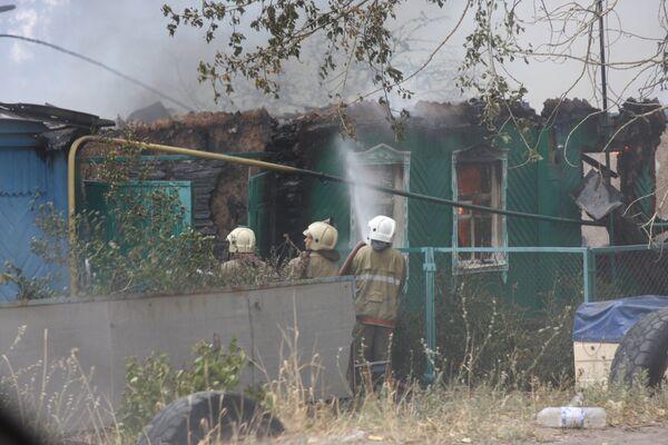 Пожары под Воронежем