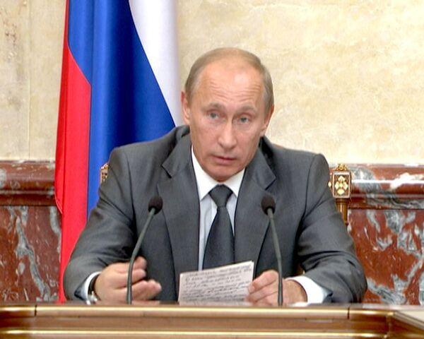 Путин: губернаторы несут личную ответственность за помощь погорельцам