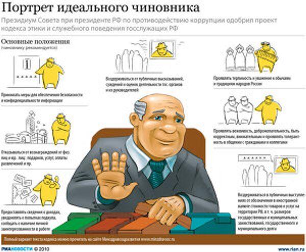 Портрет идеального чиновника