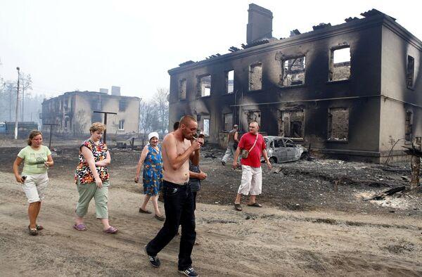 Пожары в Луховицком районе