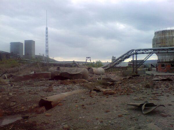 Взрыв на ТЭЦ в Норильске
