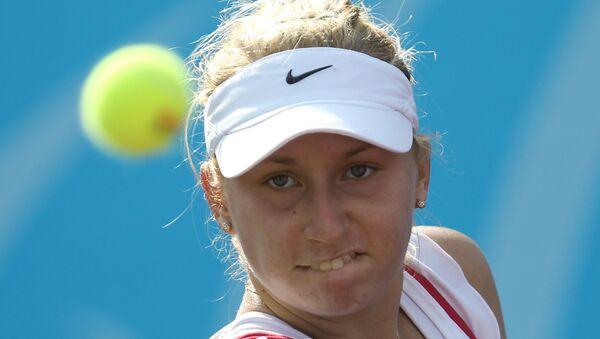 Российская теннисистка Дарья Гаврилова, архивное фото