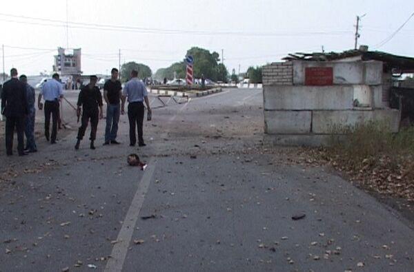 Взрыв на посту милиции в Пригородном районе Северной Осетии