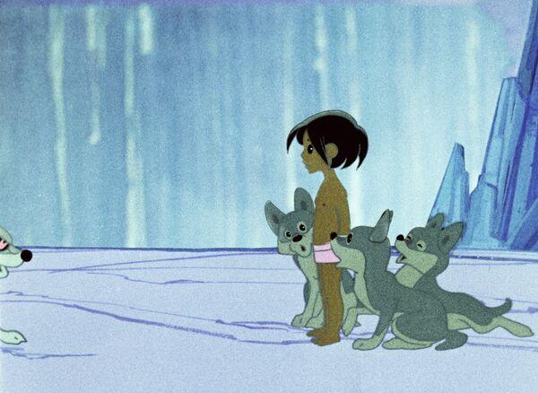 Кадр из мультипликационного фильма Маугли, за который в том числе судятся Союзмультфильм и американская компания Films by Jove