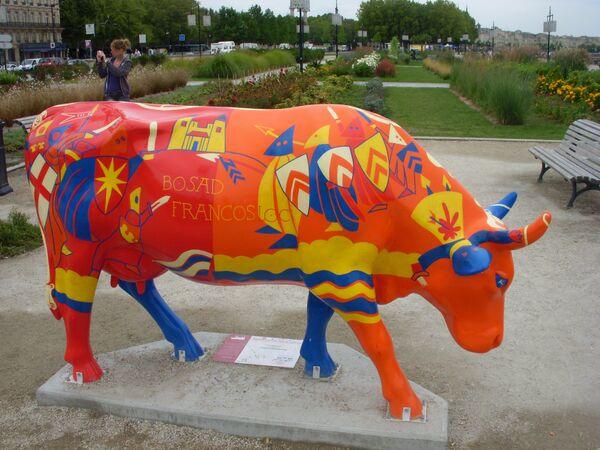 Парад коров во Франции