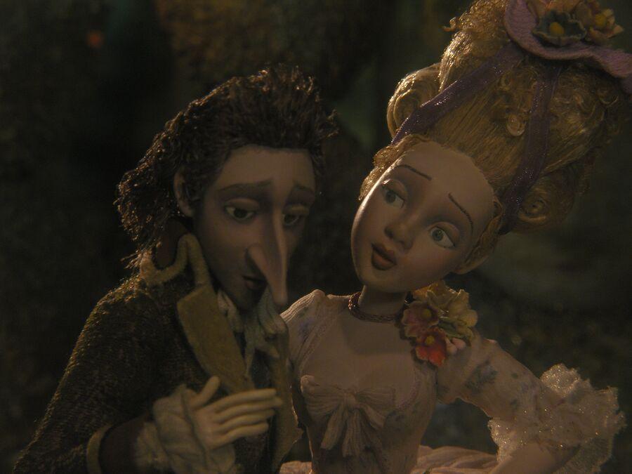 Кадр из мультфильма Гофманиада