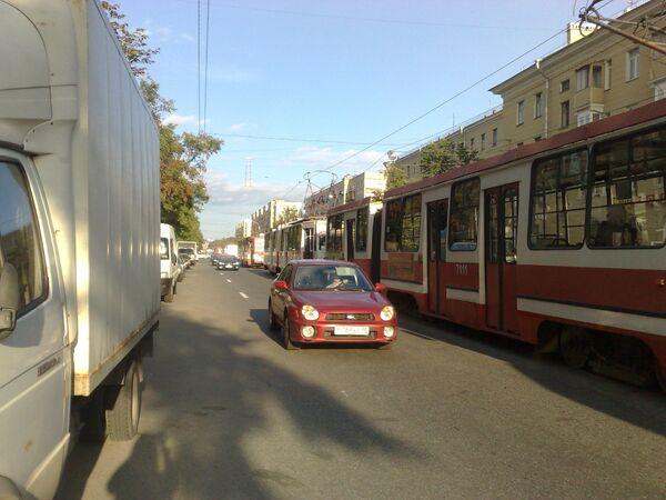 Отключение света в Санкт-Петербурге