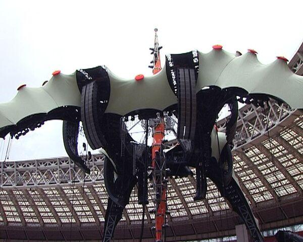 Легендарные U2 первый концерт в России дадут на летающей тарелке