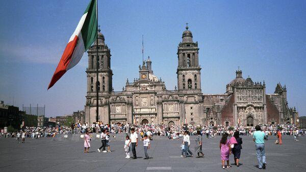 Ситуация в Мексике. Архивное фото