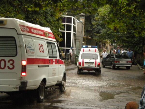 Взрыв в Пятигорске